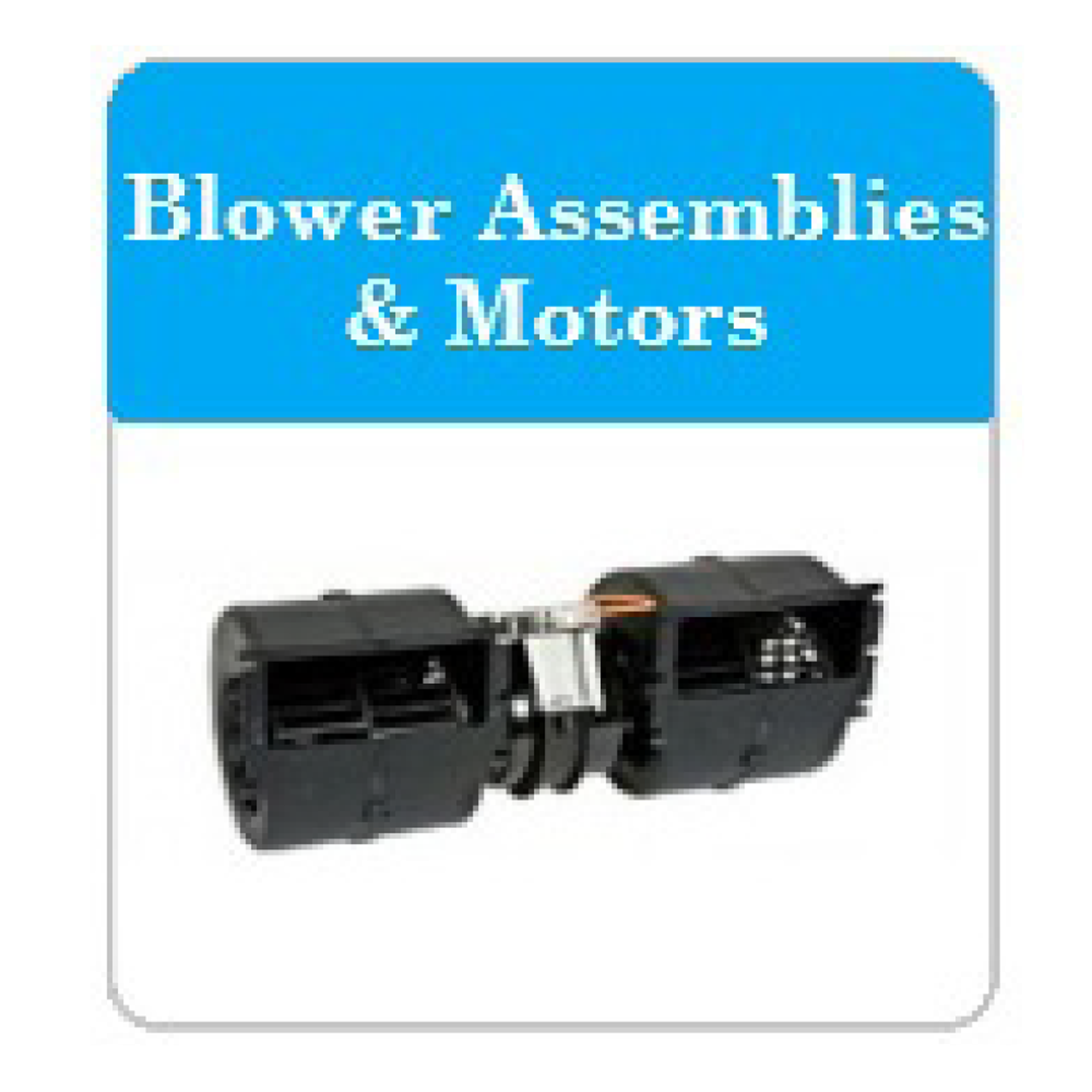 Bus AC Lower Assemblies and Motors