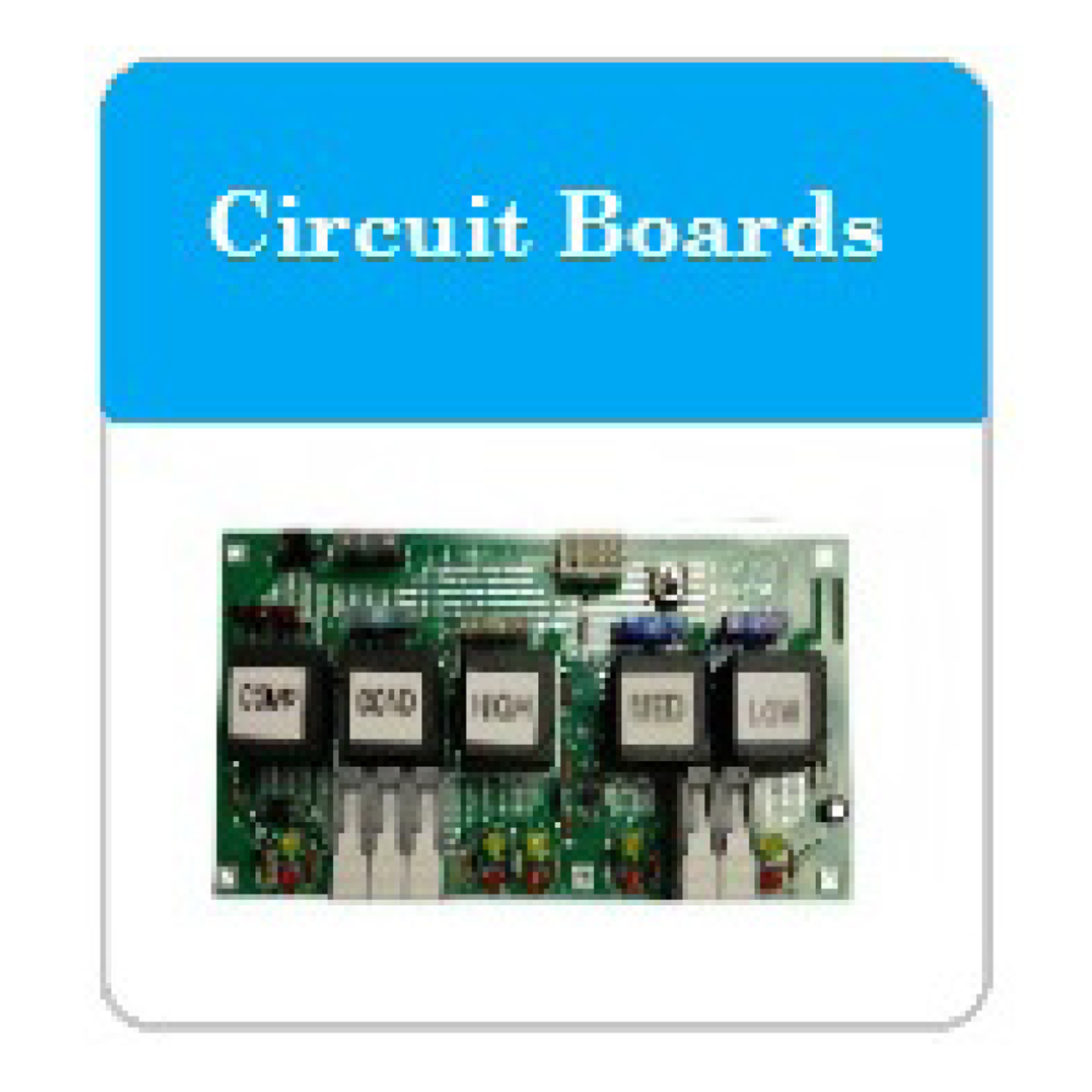 Bus AC Circuit Boards