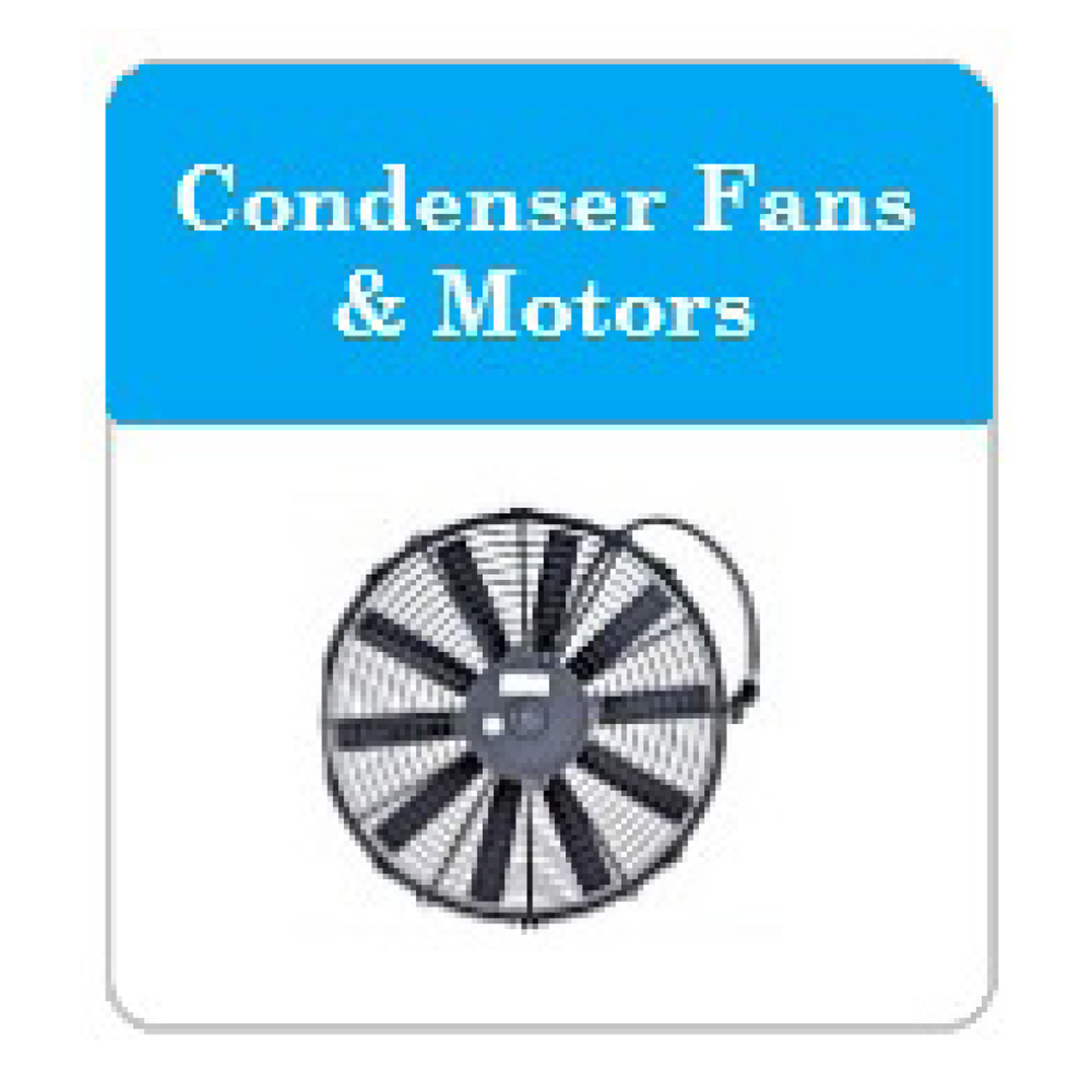 Bus AC Condenser Fans and Motors